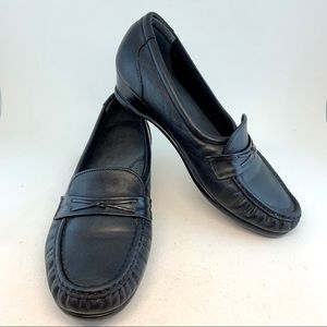 SAS Tripad Comfort Easier Moccasin Loafers WIDE